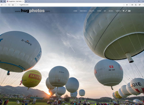 hugphotos neue Webseite