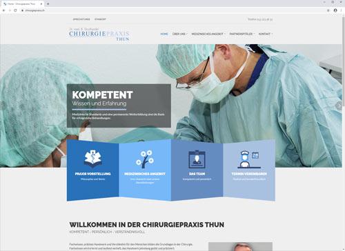 Chirurgiepraxis Stouthandel Thun