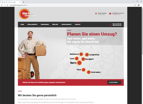 Starke Umzüge Umzugsfirma Bern