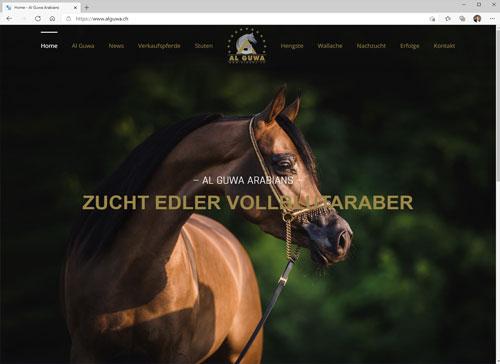 Al Guwa Arabians - Zucht edler Vollblutaraber