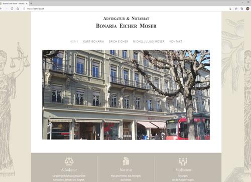 Advokatur und Notariat Bonaria Eicher Moser in Bern