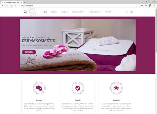 ZBDerm Thun Kosmetikstudio und Nagelstudio