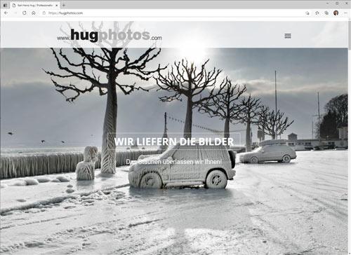 Webseite Karl-Heinz Hug hugphotos.com - Bilder die Bewegen